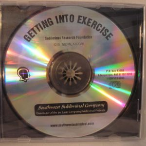 getting into exercise